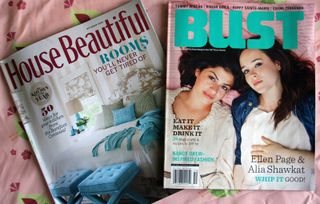 Spoonflower mentioned in House Beautiful and Bust Magazines