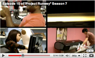 View preview of Project Runway's digital textile episode on Buddy TV