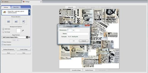 Newspaper Dimensions