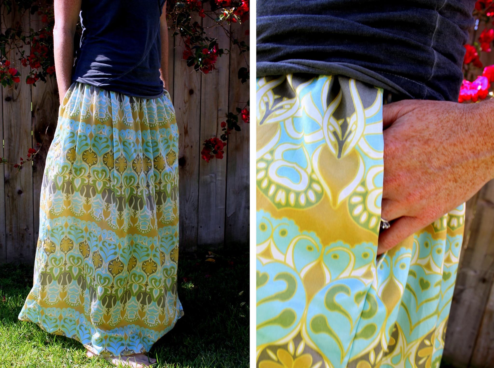 65edea24f5 Make an easy summer maxi skirt | Spoonflower Blog