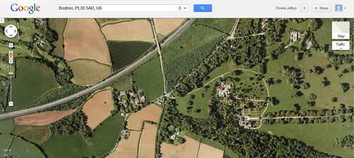 Google Maps screen capture