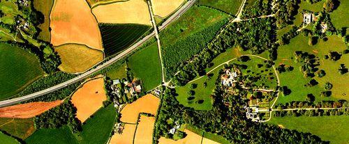 Cropped satellite image
