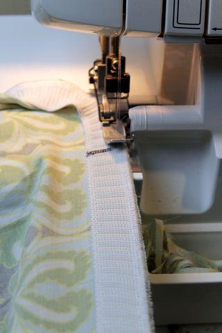 Sewing waistband