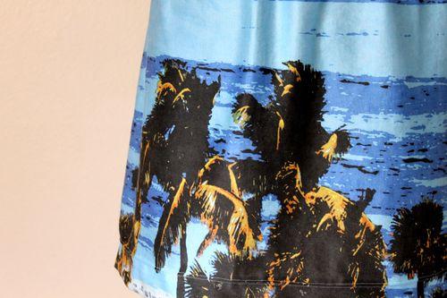 Photo print dress close