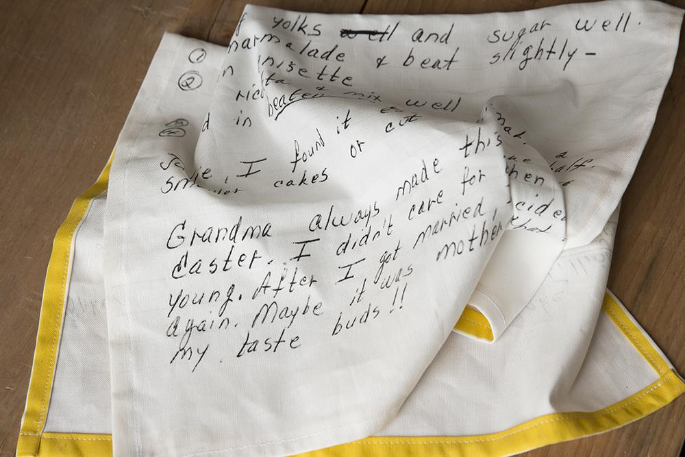 SF Recipe tea towel