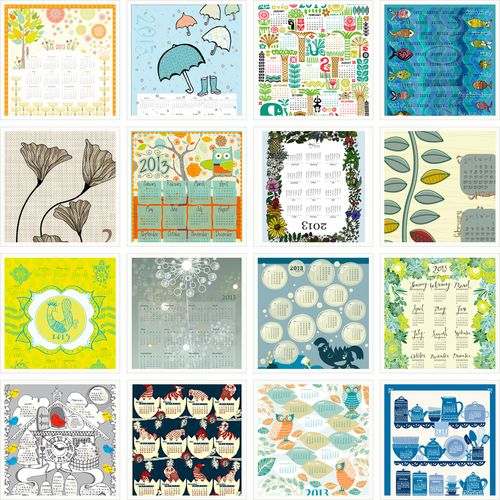 Every year we look forward to our tea towel calendar contest partly because the designs are always terrific and partly because we really love tea towels