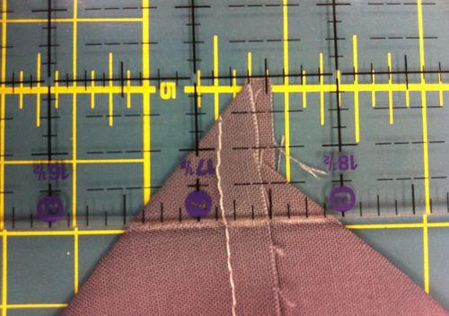 Marking_across_bottom_point