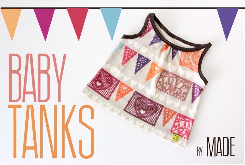 Tutorial Organic Cotton Baby Tanks Spoonflower Blog