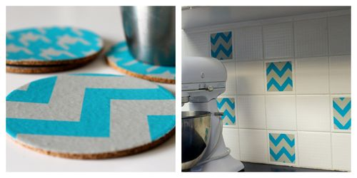 Decal coasters & tiles