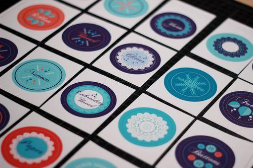 Label squares