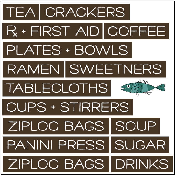 January Refresh: Kitchen Cabinet Decal Labels