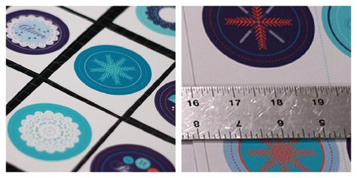 Plain labels collage
