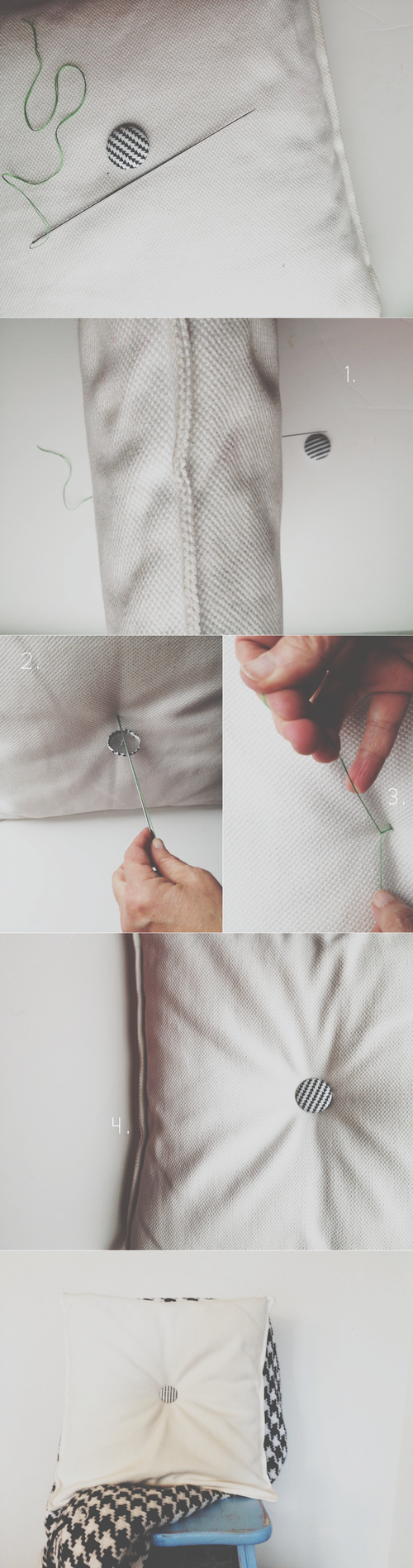 tufted pillow instructions