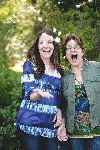Rae & her mom