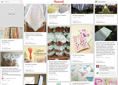 DIY Weddings Pinterest Board