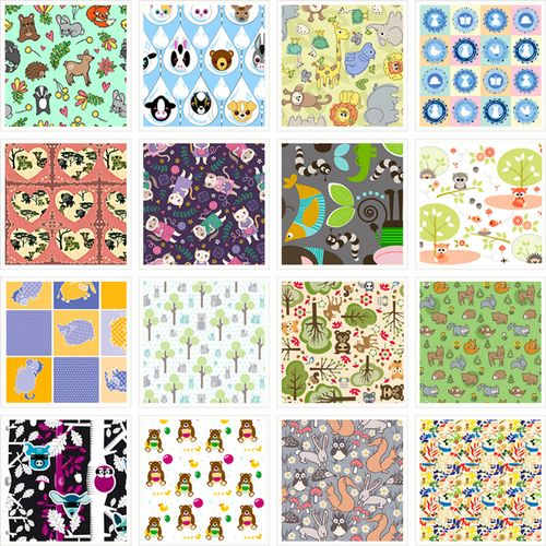 Cute fabric overload vote in our baby animal contest for Cute baby fabric prints