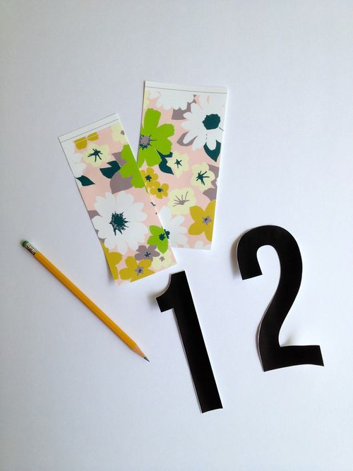 Prepping Table Numbers