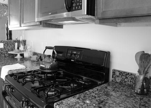 Kitchen before B&W