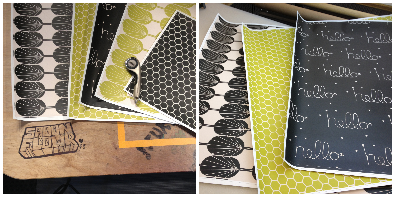 Kitchen Tiles Stickers peel and stick kitchen tiles | tutorial | spoonflower blog