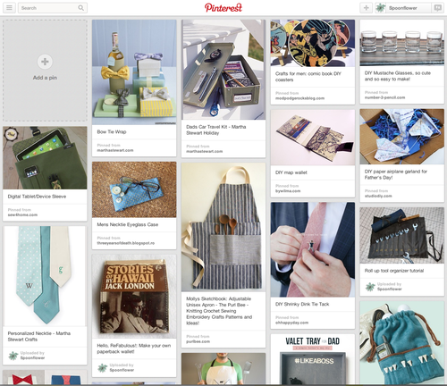 Dads and Dudes Pinterest Board