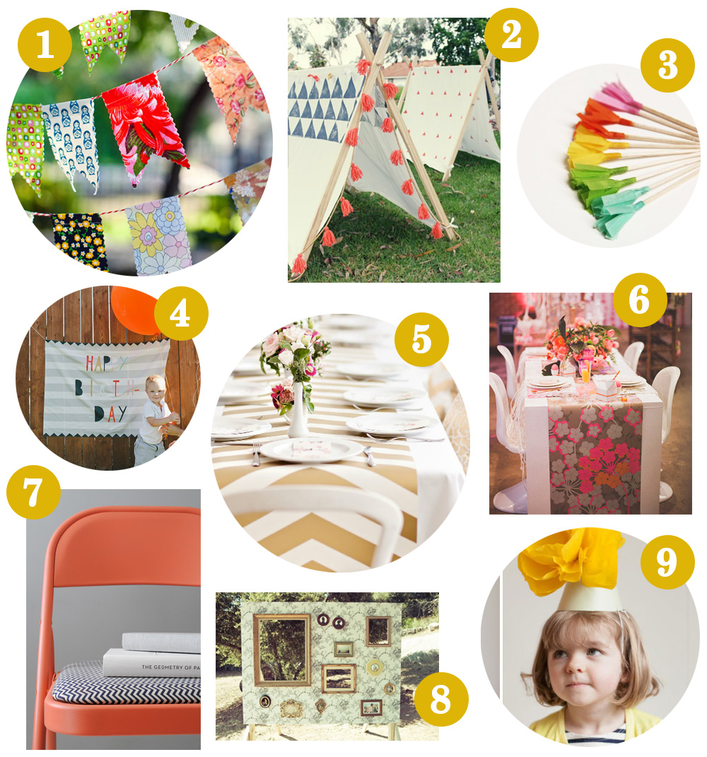Spoonflower Hacks: Summer Party Inspiration