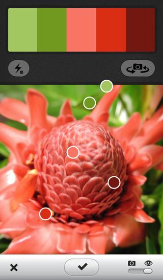 Kuler iPhone LiveView