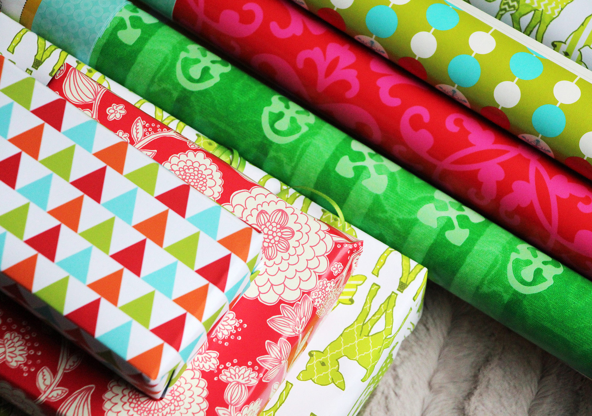 Spoonflower gift wrap | Spoonflower Blog
