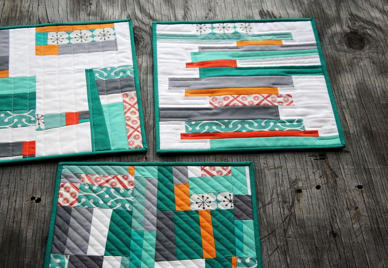 free piecing quilt blocks