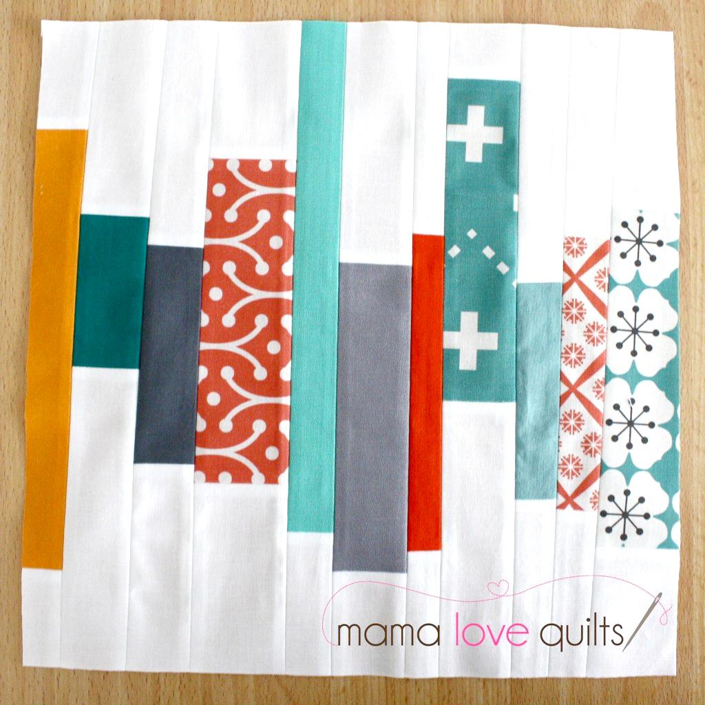 Free Piecing Quilt Block   Tutorial
