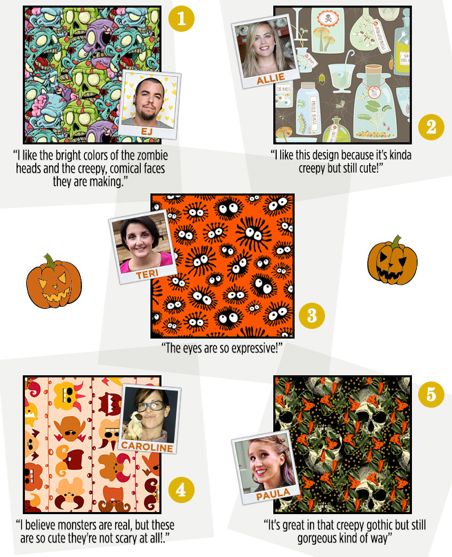 Staff Favorite Halloween Fabric