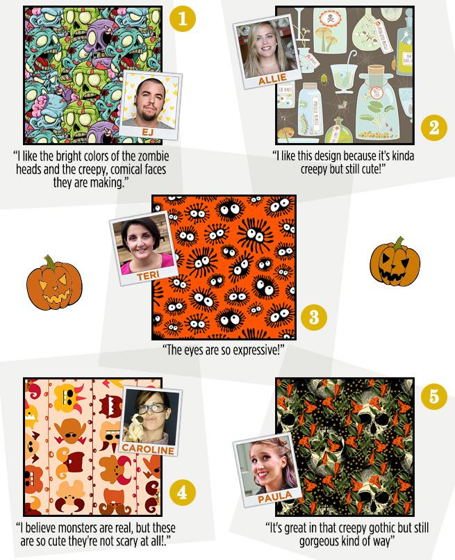 Staff Favorite Halloween Fabric