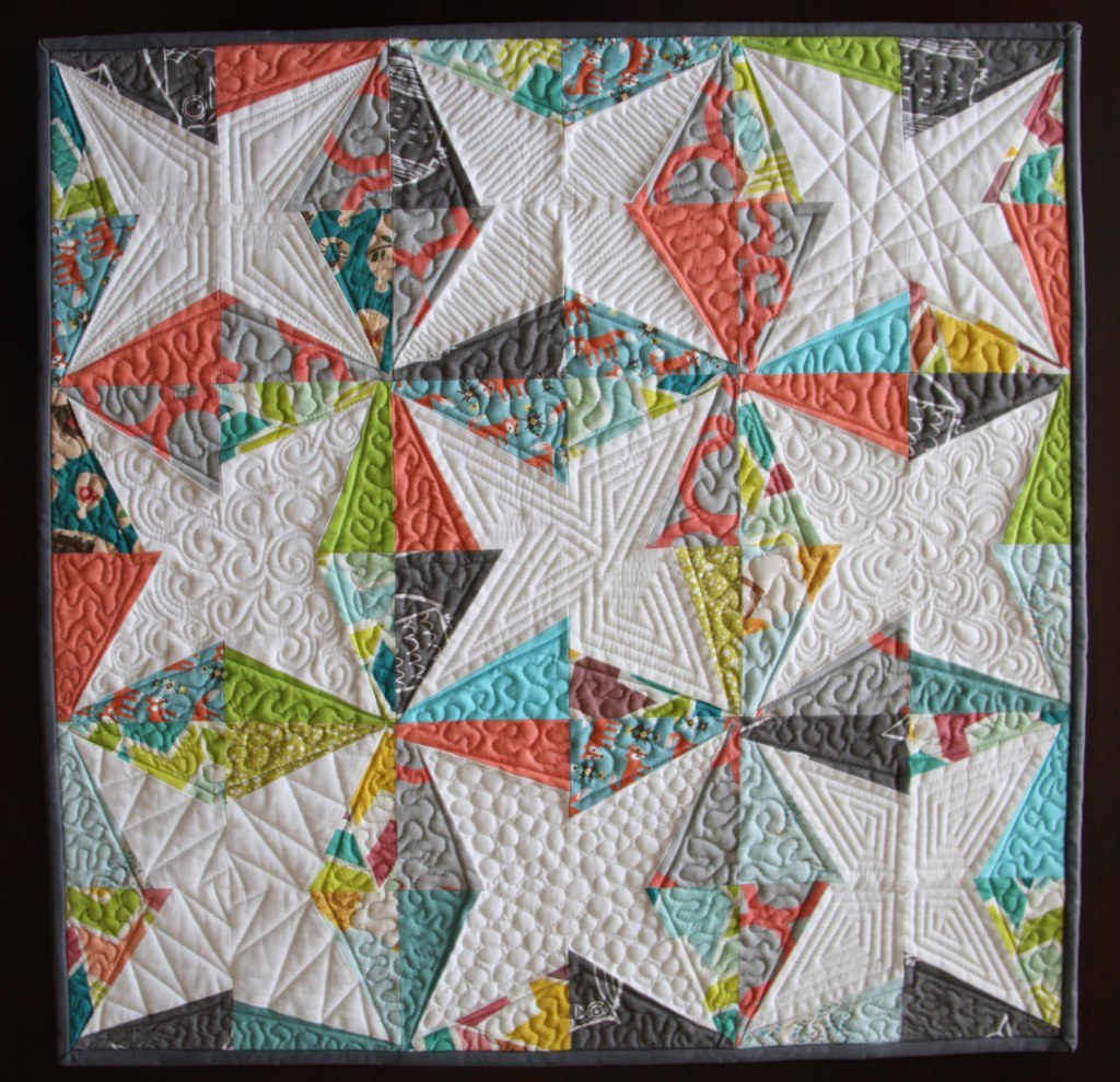 Tutorial Modern Quilt Finishing Techinques Spoonflower Blog