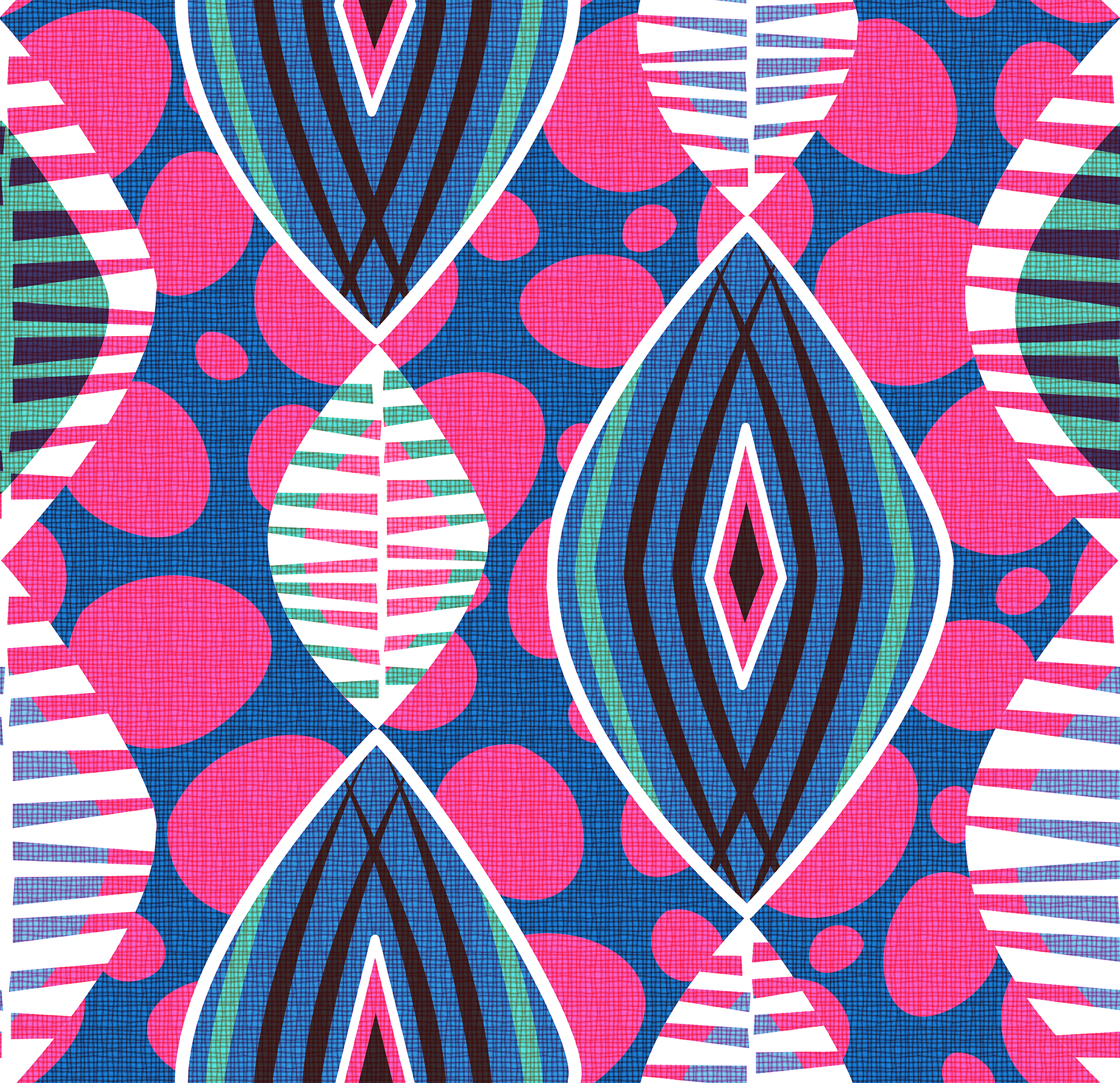 African fabric patterns the image kid for Patterned material fabric