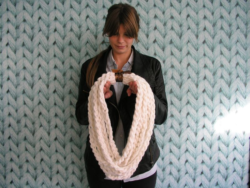Jenn with cowl