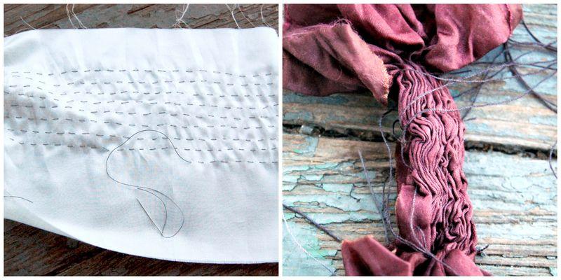 Stitch and dye