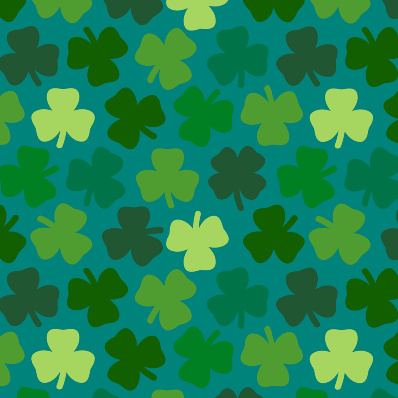 Lucky Four Leaf Clover by Roz Robinson