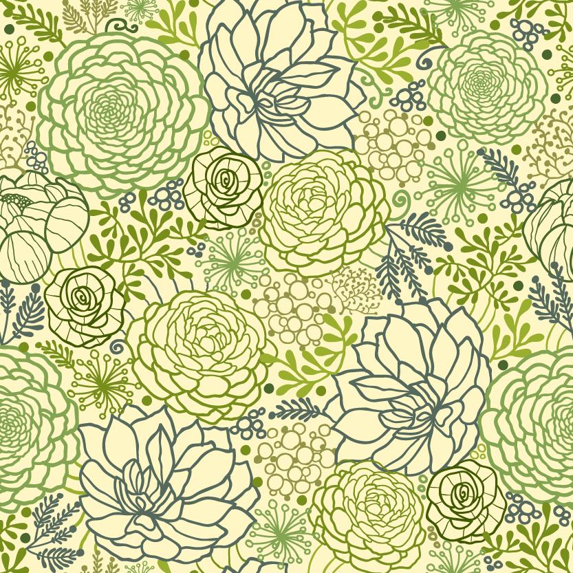 Succulent Fabric Patterns Spoonflower Blog Inspiration Fabric Patterns