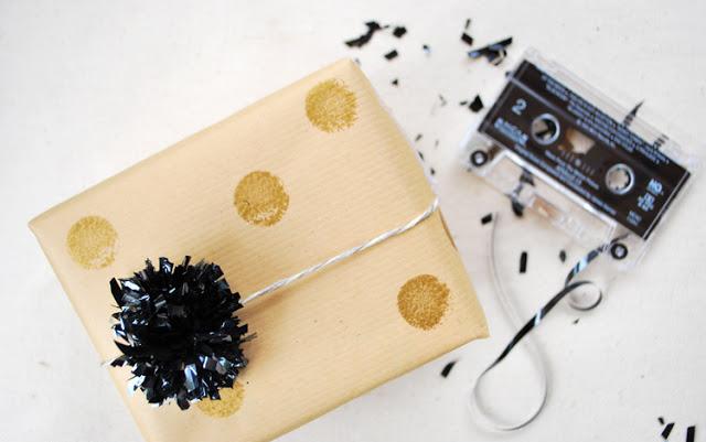 Cassette-tape-poms