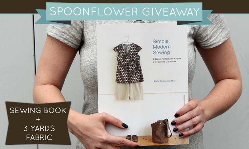 Win a copy of Simple Modern Sewing!