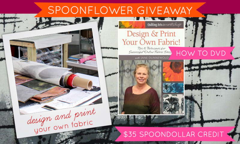 Win a Fabric Design How To DVD