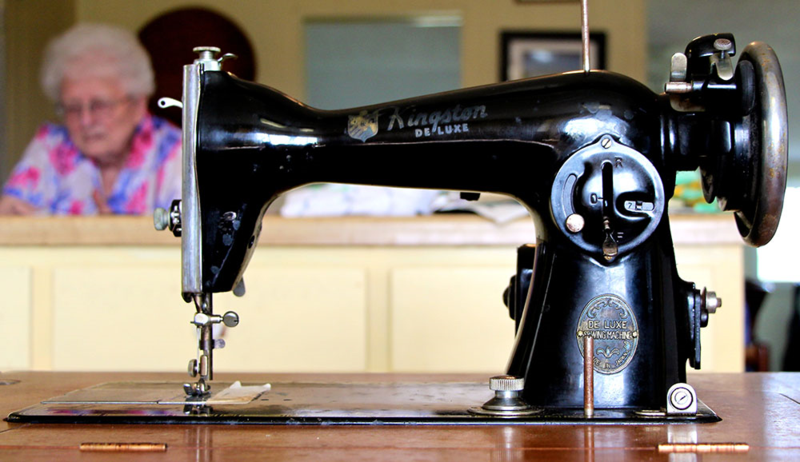 Creating a custom sewing machine