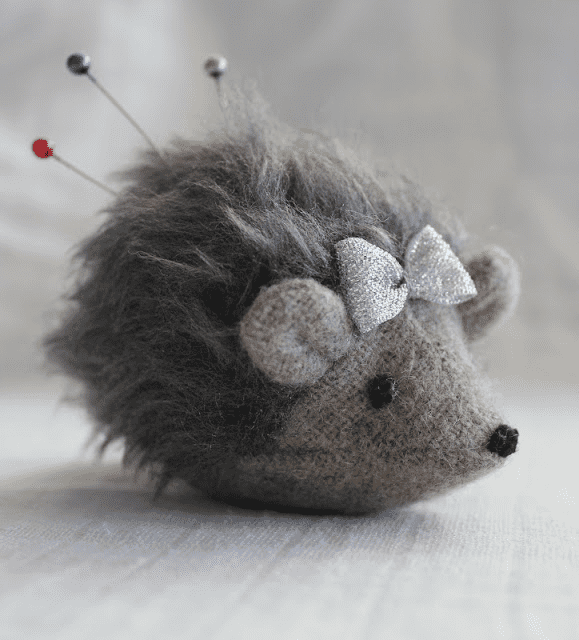 Hedgehog pincushion   Makerland