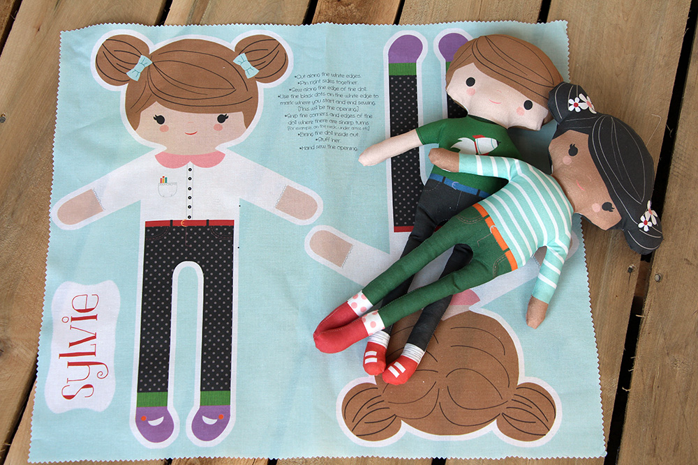 Diy Customize Your Own Cut And Sew Doll Spoonflower Blog