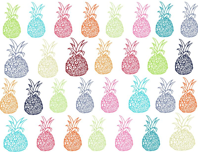 Pineapple Fabrics  Spoonflower Blog