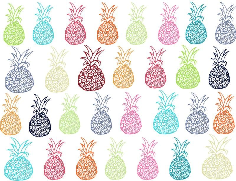 27 Summertime Pineapple Party By Theartwerks