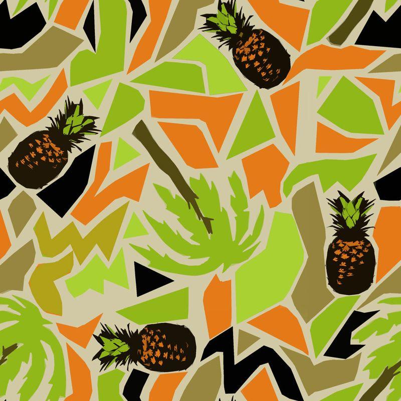 Ananas-and-palm