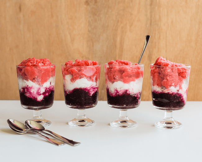 Red, White and Blue Granita | Henry Happened