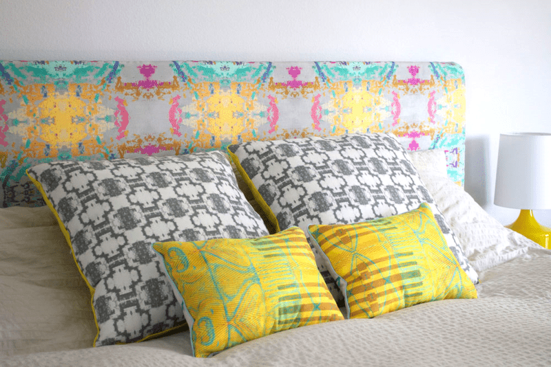 6 DIY Headboard Ideas to Inspire a Bedroom Refresh | Spoonflower Blog