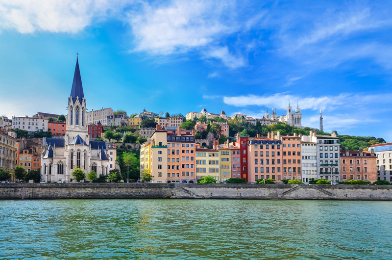My hometown-Lyon in France