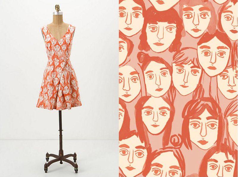 Anthro-dress